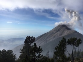 Beautiful slopes of Fuego